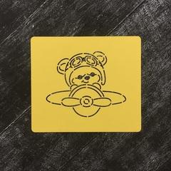 Медвежонок в самолете №2