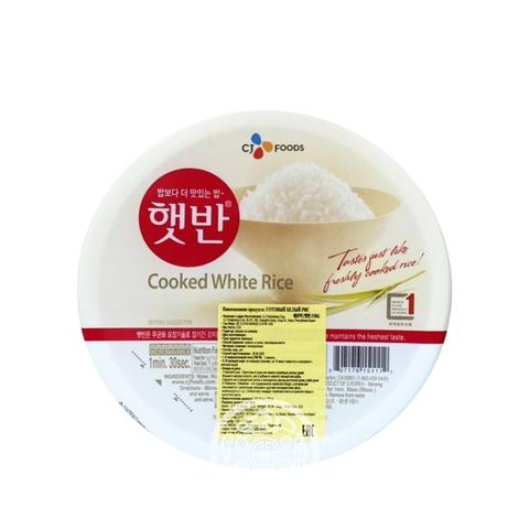 Белый рис CJ быстрого приготовления 210г Корея