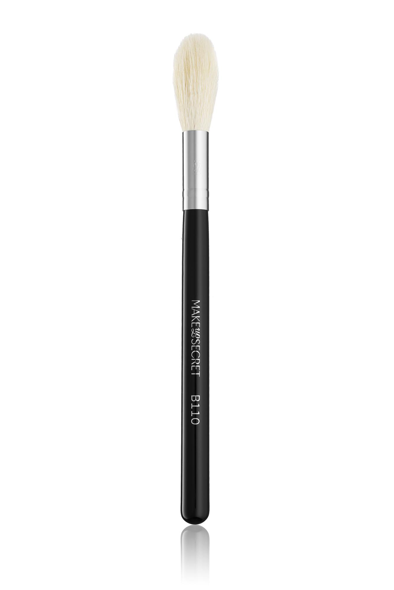 Кисть Make-Up-Secret B110 для хайлайтера