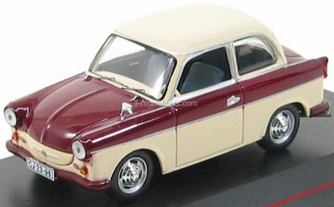 Trabant P50 Limousine red-beige 1958 IST029 IST Models 1:43