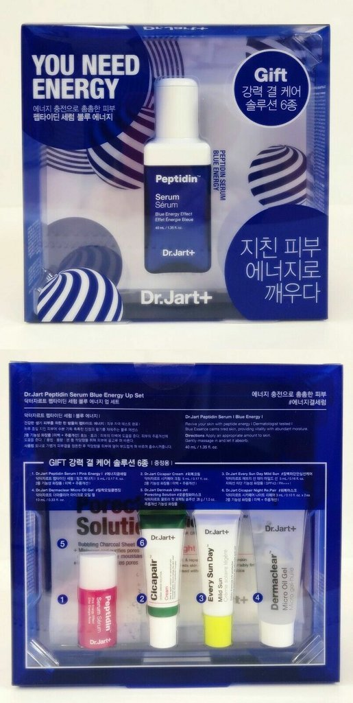 Dr.Jart+ Peptidin Serum Blue Energy Up Set