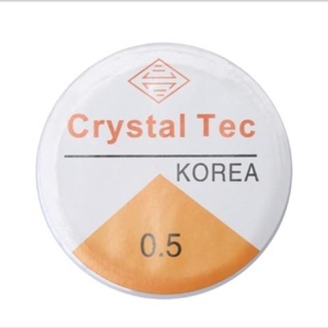 Спандекс резинка 0,5 мм - силиконовая нить-прозрачный