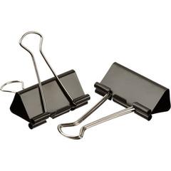 Зажимы для бумаг Attache 51 мм черные (12 штук в коробке)