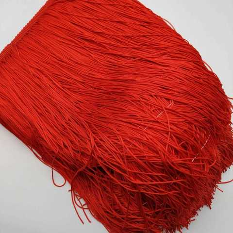 Бахрома 30 см, красный