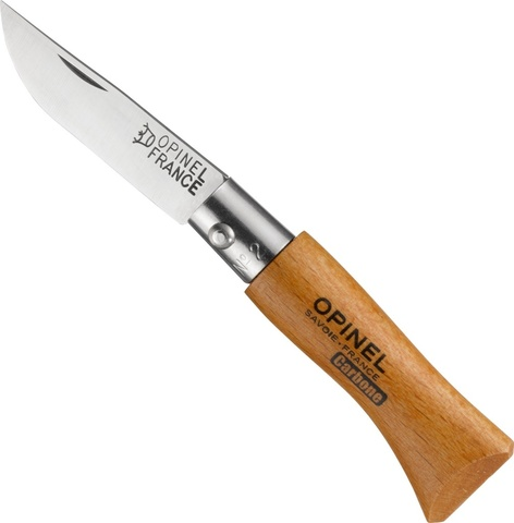 Нож складной Opinel №2 VRN Carbon Tradition
