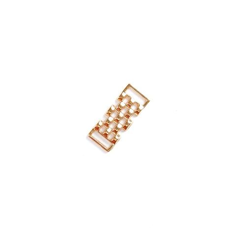 Украшение металлическое золото (10*30 мм)