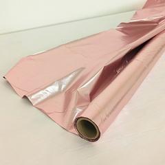 Полисилк Металл, Розовый-Розовый, 100 см* 20 м, 1 рулон.