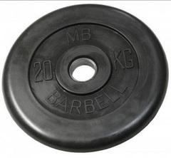 Диск Barbell MB 20 кг (31 мм)