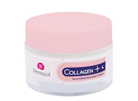 Dermacol Collagen + Intensive Омолаживающий ночной крем с высоким содержанием коллагена 35+, 50 мл