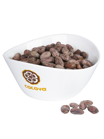 Какао-бобы цельные (Перу), внешний вид