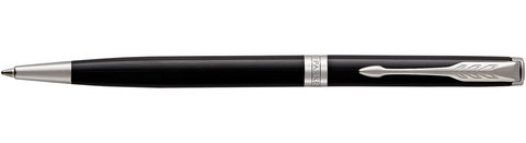 Шариковая ручка Parker Sonnet Slim Lacquer Deep Black CT123