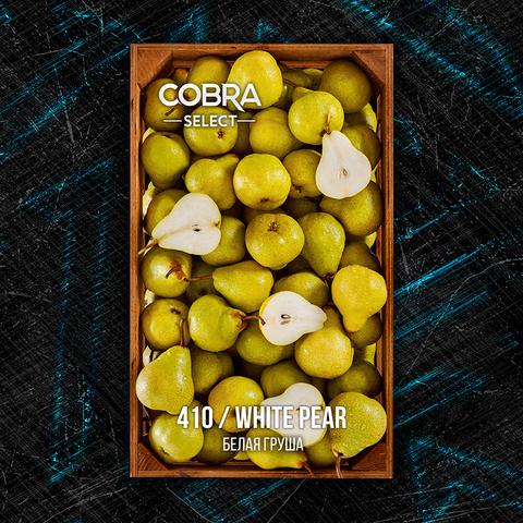 Табак Cobra SELECT Белая Груша (White Pear) 40 г