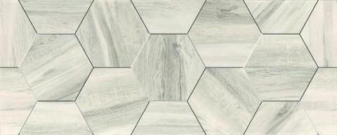 Плитка настенная Керамин Декор Миф 7 объемный 200х500