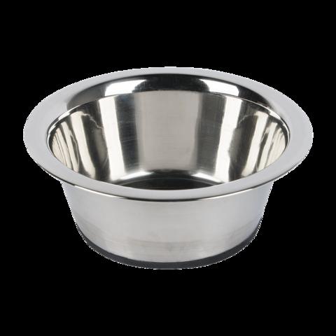 Beeztees Миска для собак стальная с резиновым дном