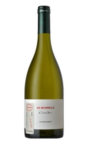Вино Коно Сур 20 Баррелей Шардонне Лимитед Эдишн геогр. наим. 2012 белое сух. 0,75 л  13,5% Чили