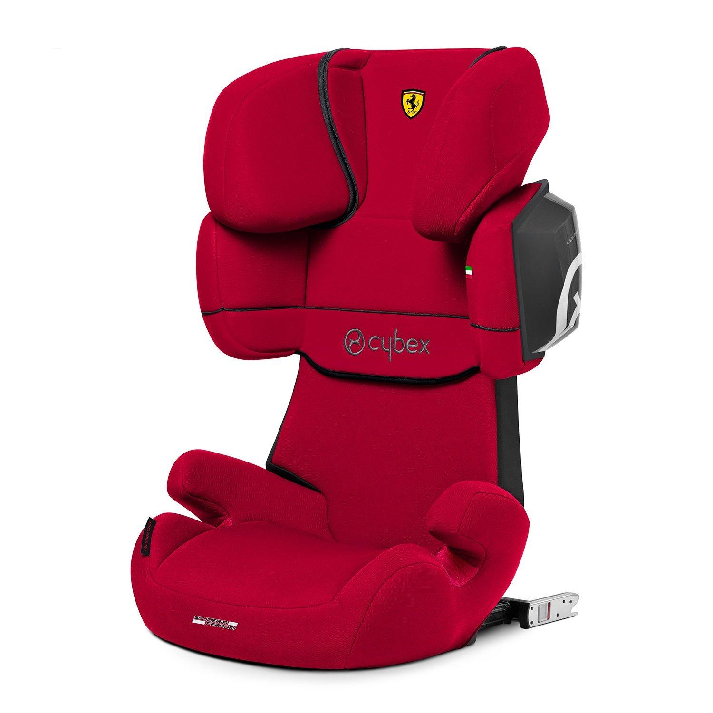 Автокресло 2/3 Cybex Solution X2-Fix FE Ferrari Racing Red