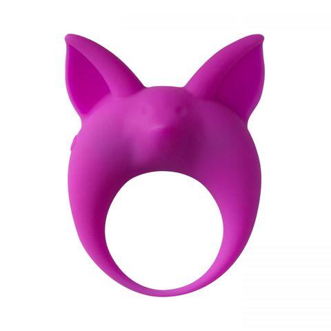 Фиолетовое эрекционное кольцо Kitten Kyle