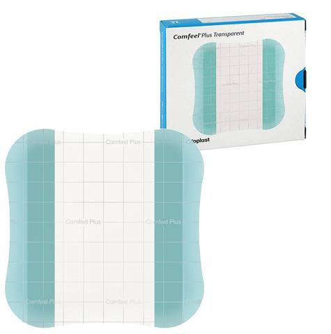 Comfeel Plus Transparent 3533 - Комфил Плюс Транспарент, повязка гидроколлоидная прозрачная, 10х10 см, комплект 10 шт