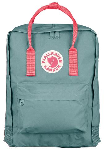 Рюкзак Fjallraven Kanken Classic Frost Green / Peach Pink