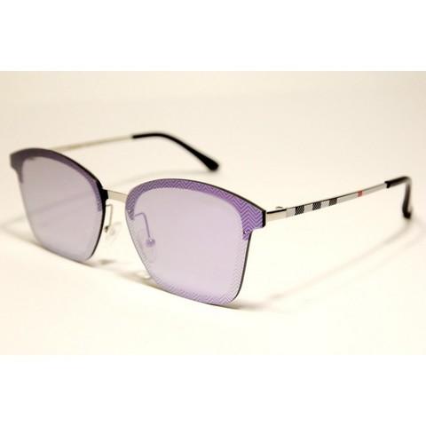 Солнцезащитные очки 20042001s Фиолетовые зеркальные