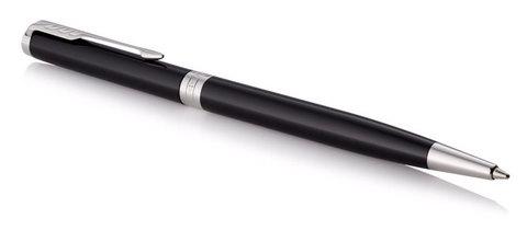 Шариковая ручка Parker Sonnet Slim Lacquer Deep Black CT