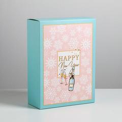 Коробка складная «Тепла и уюта», 22 × 30 × 10 см, 1 шт.