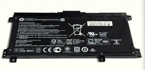 Аккумулятор для HP 15-BP 15-BQ (11.55V 4600MAH) ORG PN LK03XL, HSTNN-UB7I, TPN-W127, TPN- W128