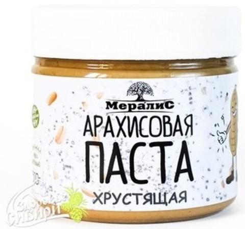 Арахисовая паста Хрустящая, 300 гр