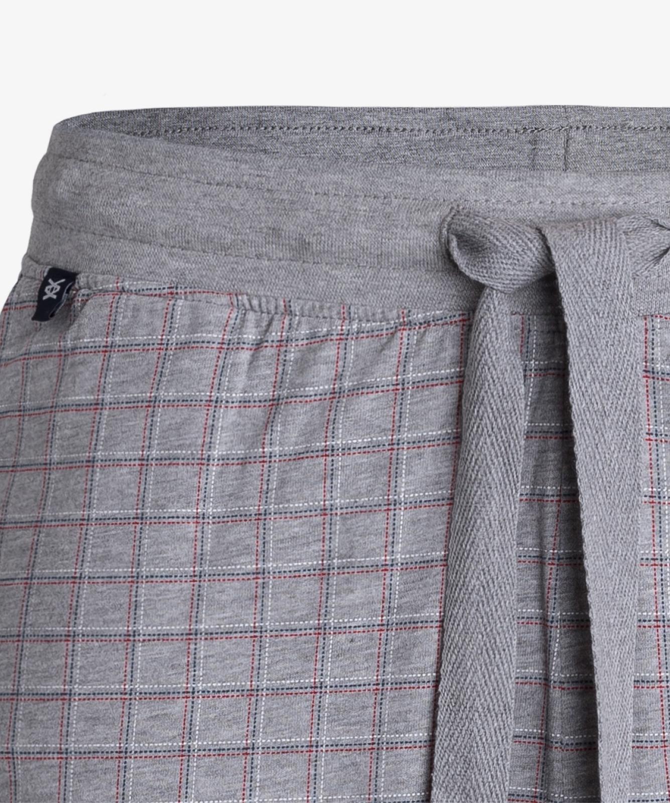 Мужская пижама Atlantic, 1 шт. в уп., хлопок, темно-синяя, NMP-341