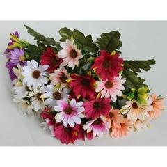 Искусственные цветы Герберы, букет 28 см.
