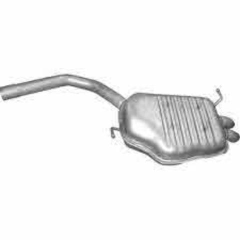 глушитель Audi A4 1.9 TDi Turbo Diesel sedan, combi 12/00-12/04