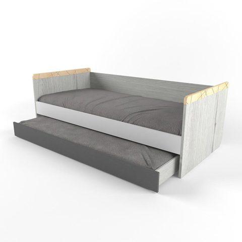 Кровать с дополнительным спальным местом 38 попугаев  Ньютон Грэй