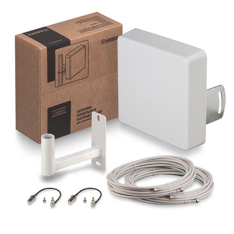 Комплект Kroks для усиления 3G/4G сигнала KSS15-3G/4G MIMO