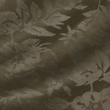 Плательный жаккард из льна и шёлка цвета хаки