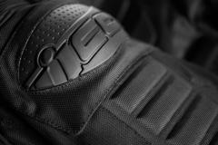 Мотокуртка - ICON OVERLORD RESISTANCE (текстиль, черная)