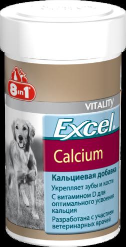 8in1 Кормовая добавка 8in1 Excel Calcium Эксель Кальций для собак 4048422109402.png