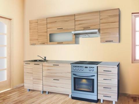 Кухня МАРТА 1,8 горизонтальный шкаф