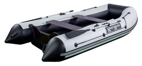 Моторно-гребная лодка RiverBoats RB — 330 (ПВХ, НДНД)