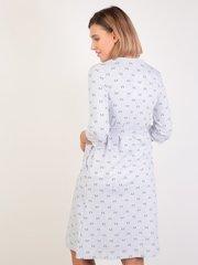 Евромама. Комплект для беременных и кормящих двухцветный, серый вид 3