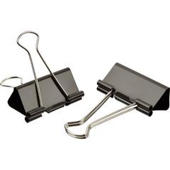 Зажимы для бумаг Attache 51 мм черные (12 штук в пакете)