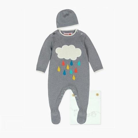 Комплект Boboli детский Разноцветный дождь