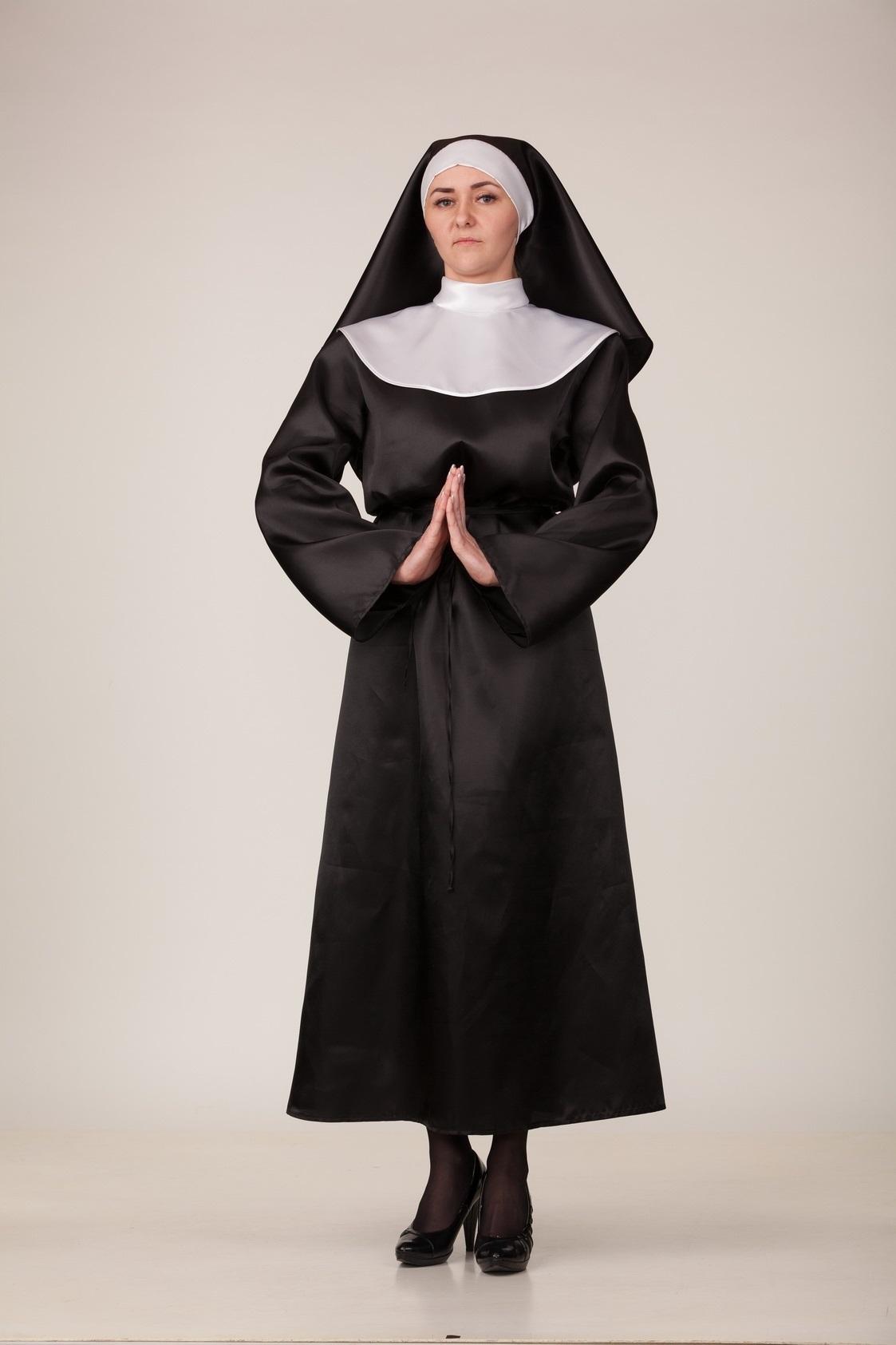 Костюм карнавальный женский Монашка