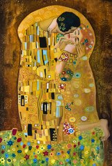 Kətan Tablo / Картина - Klimt (The Kiss)