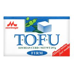 Тофу Morinaga Соевый сырный продукт твердый 297 гр