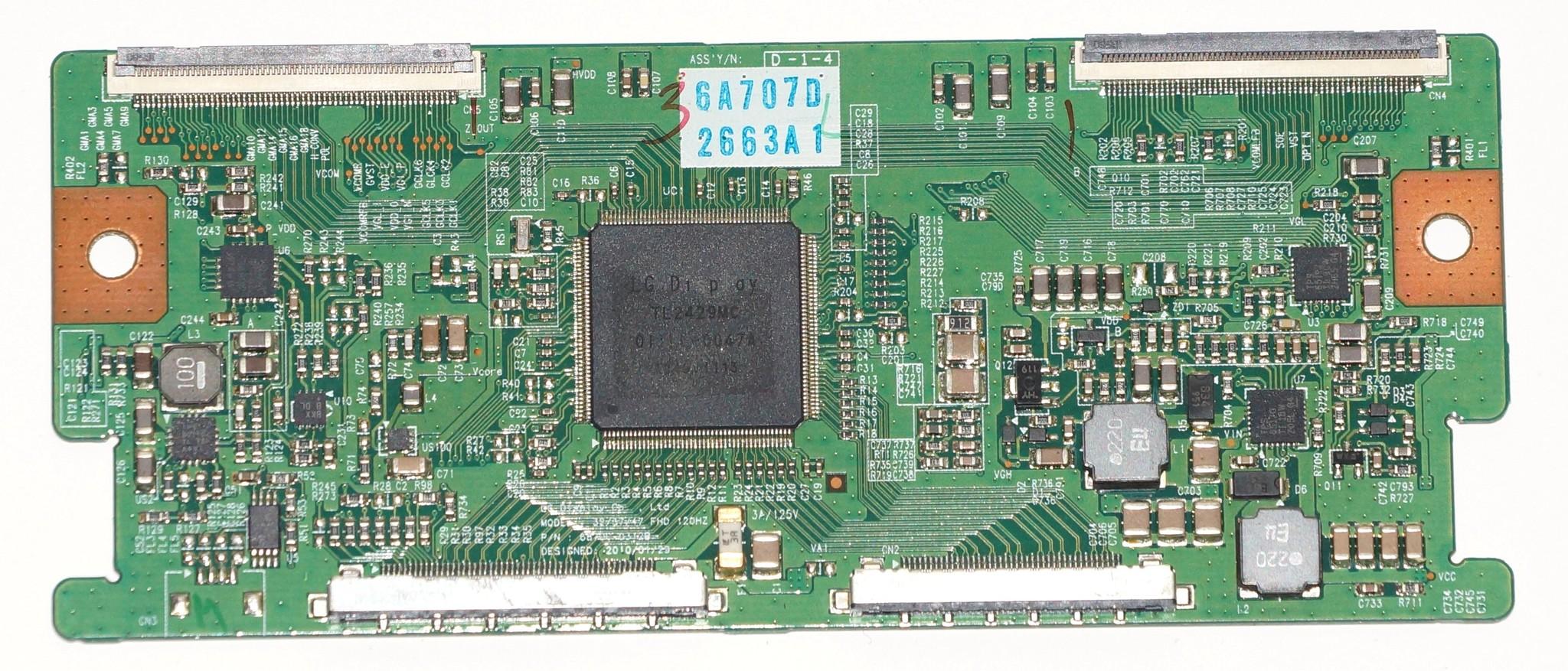 6870C-0312B t-con телевизора LG