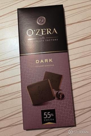 Шоколад горький 55% КОНФЕТЫ ИП ШЕВЧУК 0,1шт