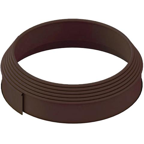 Бордюр для газона h15см (9м) коричневый 159SB