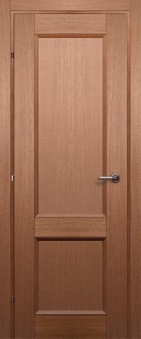 Дверь Краснодеревщик ДГ 3323, цвет грецкий орех, глухая