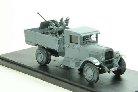 ZIS-5 Wehrmacht anti-aircraft gun FLAK 1:43 Miniclassic