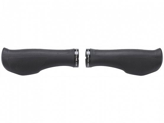 Грипсы BBB ErgoFix 132mm черный/черный